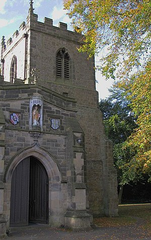 St Giles Church, Durham - Image: St Giles Church, Gilesgate, Durham