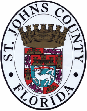 St. Johns County, Florida - Image: St Johns County Fl Seal