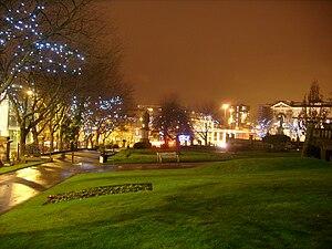 St John's Gardens - St John's Gardens at Christmas
