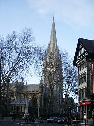 St Mary Abbots - Image: St Mary Abbots Church Kensington
