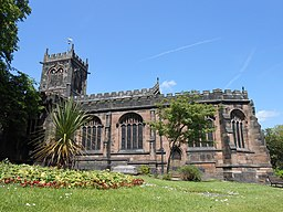 St Michael and All Angels Church, Middlewich (1)