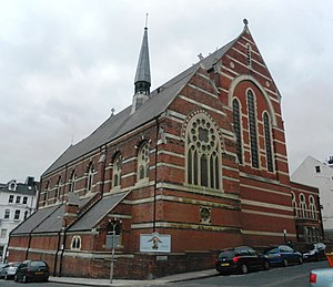 St Michael's Church, Brighton - The church from the southeast