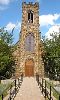 St. Thomas Episcopal Church, built in 1846, is one of the oldest buildings in the borough. St Toms NJ.JPG