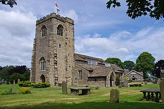 Ribchester - St Wilfrid's Church.