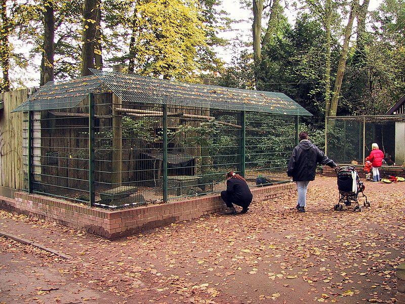 File:Stadtgarten Wattenscheid, Herbst 2002 - Vogelkäfige.JPG
