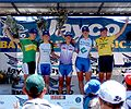 Stage 5 2006 Bay Cycling Classic womens podium.jpg