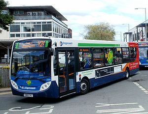 Stagecoach South Wales - Alexander Dennis Enviro 300 in Cwmbran in May 2011