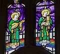 Stained glass window, St Lawrence, Hawkhurst (15102994470).jpg