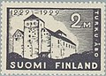 Stamp of Finland - 1929 - Colnect 581094 - 1 - 700th Anniversary of Turku Castle.jpeg