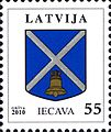 Stamps of Latvia, 2010-03.jpg