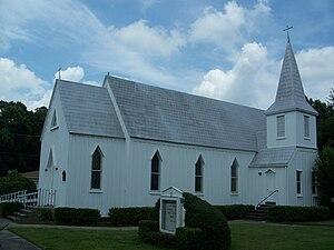 St. Mark's Episcopal Church (Starke, Florida) - Image: Starke FL St Marks Episc Church 01