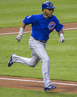 Starlin Castro - Castro playing for the Chicago Cubs in 2014