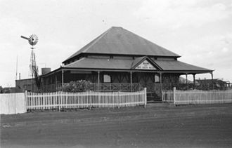Westpac Bank building, Normanton - Bank of New South Wales, Normanton, circa 1953