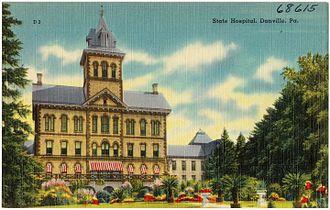 Danville State Hospital - State hospital, Danville, Pennsylvania, between 1930 and 1945