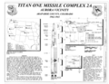 Statement of significance, Titan I cutaway section, and maps - Titan One Missile Complex 2A, .3 miles west of 129 Road and 1.5 miles north of County Line Road, Aurora, Adams HAER CO-89 (sheet 1 of 3).png