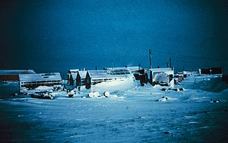 Station Nord, Greenland - Station Nord in 1966