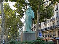 Statue of BALZAC, made by RODIN, Paris.jpg