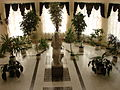 Statue of Grieving Mother - Hotel Complex Projorovskoe Lobby - Prokhorovka - Russia.JPG