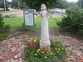 Statue of young girl in Benton Square IMG 2391.JPG