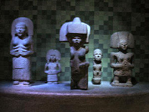 Huastec people - Huastec stone sculpture – AMNH