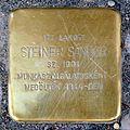 Steiner Sándor stolperstein (Budapest-13 Kresz Géza u 18).jpg