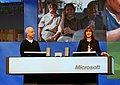 Steven Sinofsky and Julie Larson-Green at Microsoft PDC 2008, day two (3008999652).jpg