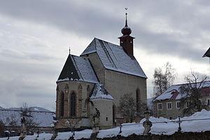 St. Lambrecht's Abbey - St. Peter's church