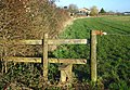 Stile near Brize Norton - geograph.org.uk - 351112.jpg