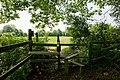 Stile on footpath south of Holly Tree Farm - geograph.org.uk - 1330194.jpg