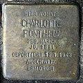 Stolperstein Heerstr 15 (Westend) Charlotte Fontheim.jpg