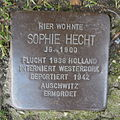 Stolperstein Herford Brüderstraße 1 Sophie Hecht.JPG