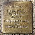 Stolperstein Hobrechtstr 57 (Neuk) Flora Krieg.jpg