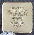Stolperstein Motzstr 82 (Wilmd) Steffa Emilia Tennenbaum.jpg