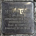 Stolperstein Rudolstädter Str 120 (Wilmd) Herbert Cohn.jpg