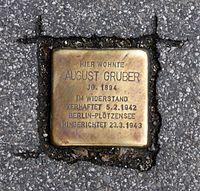 Stolperstein Salzburg, Verlegestelle Herbert-von-Karajan-Platz 2.jpg