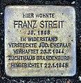 Stolperstein Taunusstr 4 (Fried) Franz Streit.jpg