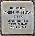 Stolperstein für Samuel Guttmann (Potsdam).jpg
