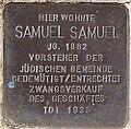 Stolperstein für Samuel Samuel.jpg