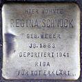 Stolpersteine Köln, Regina Schnock (Kartäuserwall 7).jpg