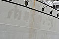 Stralsund, Gorch Fock, Detail am Bug (2012-03-04), by Klugschnacker in Wikipedia.jpg