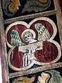 Stralsund Nikolaikirche - Fresko 1 Musizierender Engel.jpg