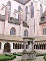 Strasbourg - Église protestante Saint-Pierre-le-Jeune de Strasbourg - cloître 12.JPG