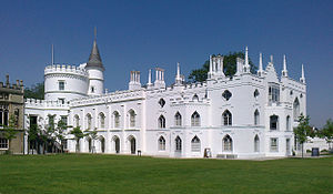 1766 in architecture - Strawberry Hill House