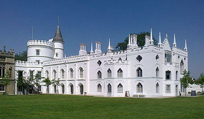 Strawberry Hill House Twickenham London A Highly Influential Milestone In Gothic Revival Architecture