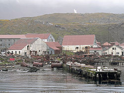 Ruins of the whaling station Stromness