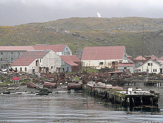 Stromness, South Georgia - Image: Stromness 001