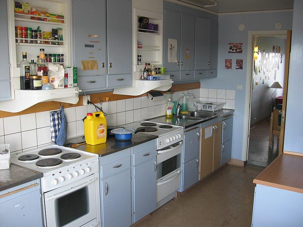 Student kitchen in Flogsta