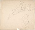 Studies of a Boy Playing the Flute; verso- Studies of Seated Man MET DP803687.jpg