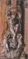 Studio per un gruppo decorativo del fregio Magnani - Agostino Carracci.png