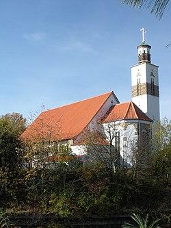 Stuttgart-Vaihingen Kath. Christus-König-Kirche.JPG